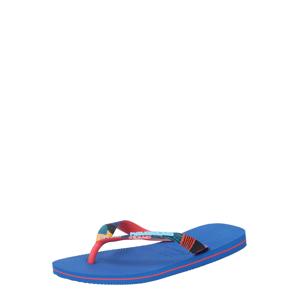 HAVAIANAS Žabky  modrá / červená / mátová