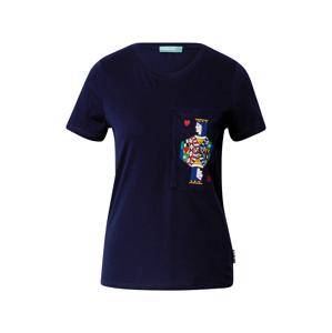 UNITED COLORS OF BENETTON Tričko  námořnická modř / mix barev