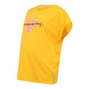 MY TRUE ME Tričko  světle růžová / žlutá