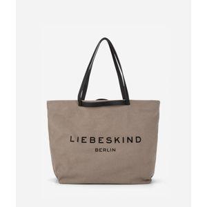 Liebeskind Berlin Nákupní taška  šedobéžová