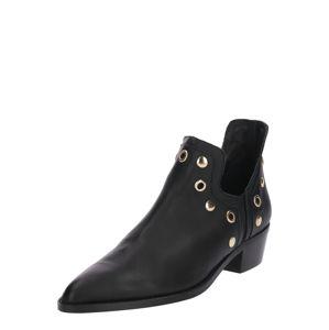 Farina Opoku Kotníkové boty  černá