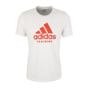 ADIDAS PERFORMANCE Funkční tričko 'FREELIFT'  oranžová / bílá