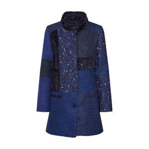 Desigual Přechodný kabát 'ABRIG_CARTTER'  tmavě modrá