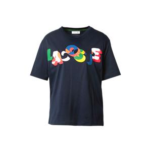 LACOSTE Tričko  námořnická modř / mix barev