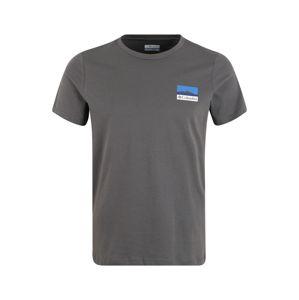 COLUMBIA Funkční tričko  tmavě šedá