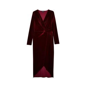 Miss Selfridge Šaty  burgundská červeň