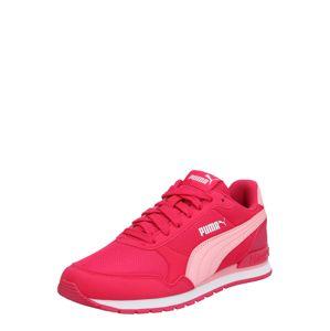 PUMA Tenisky 'ST Runner v2 Mesh JR'  bílá / růžová / pink