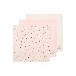 Steiff Collection Šátek  starorůžová / bílá