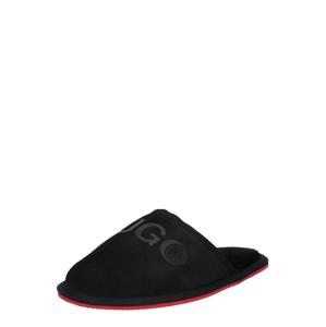 HUGO Pantofle  černá