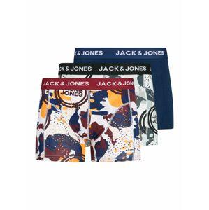 JACK & JONES Boxerky  bílá / námořnická modř / oranžová / bordó / šedá