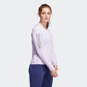 ADIDAS PERFORMANCE Funkční tričko  pastelová fialová / stříbrně šedá