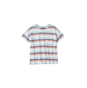 Abercrombie & Fitch Tričko 'SB19-SS DROP SHOULDER TEE STRIPE'  mix barev