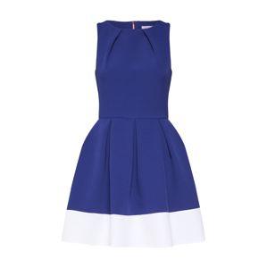 Closet London Koktejlové šaty  královská modrá / bílá