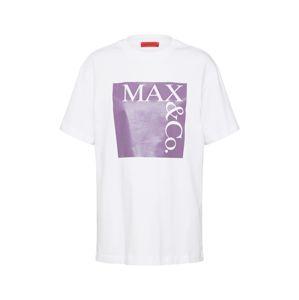 MAX&Co. Tričko  fialová / bílá