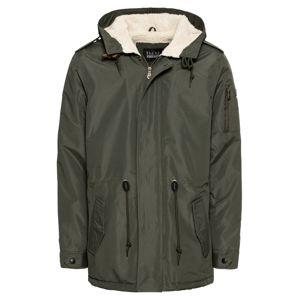 BLEND Zimní parka 'Outerwear'  khaki