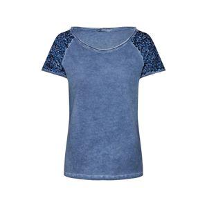 ONLY Tričko 'DISCO'  nebeská modř