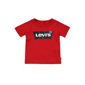 LEVI'S Tričko  červená / černá