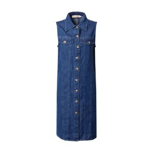 PIECES Košilové šaty 'MALLE'  modrá džínovina