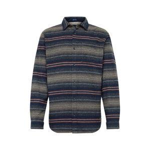JACK & JONES Košile 'CHILL'  námořnická modř / mix barev