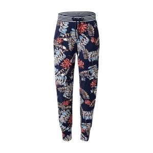 Mey Pyžamové kalhoty 'Dani'  modrá / noční modrá / bílá / červená