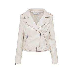 GLAMOROUS Přechodná bunda  bílá / krémová