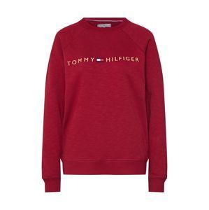 Tommy Hilfiger Underwear Tričko na spaní 'CN TRACK TOP LS'  růžová