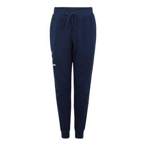 UNDER ARMOUR Sportovní kalhoty  bílá / tmavě modrá