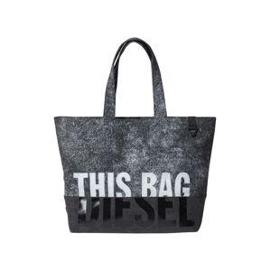 DIESEL Nákupní taška  antracitová