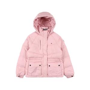 TOMMY HILFIGER Zimní bunda  růžová