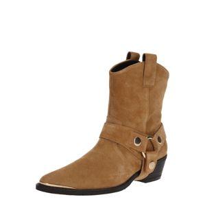STEVE MADDEN Kovbojské boty  světle hnědá