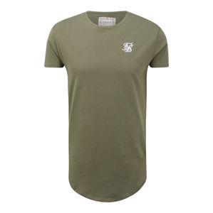 SikSilk Tričko  khaki