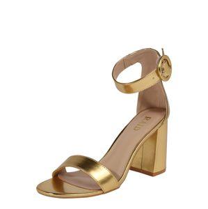 Raid Páskové sandály 'GENNA'  zlatá