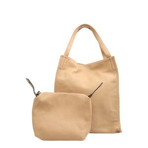 Mae & Ivy Nákupní taška  písková