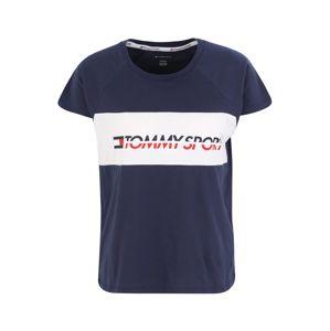 Tommy Sport Funkční tričko 'BLOCKED'  marine modrá