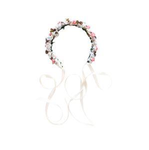 We Are Flowergirls Šperky do vlasů 'Ola'  růžová / bílá