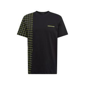 Mennace Tričko  černá
