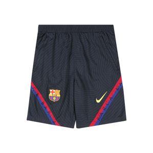 NIKE Sportovní kalhoty 'FC Barcelona Strike'  noční modrá / černá / modrá / červená / mix barev