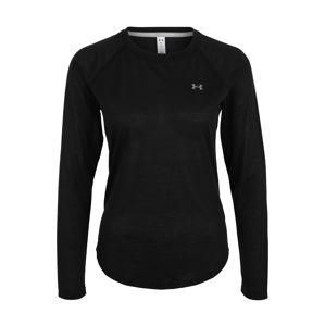 UNDER ARMOUR Funkční tričko 'Whisperlight'  černá