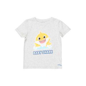 NAME IT Tričko 'BABY SHARK'  světle šedá / mix barev