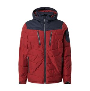 KILLTEC Outdoorová bunda 'Skane'  červená / noční modrá