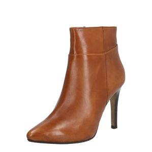 SPM Kotníkové boty 'NOLINA'  tmavě hnědá