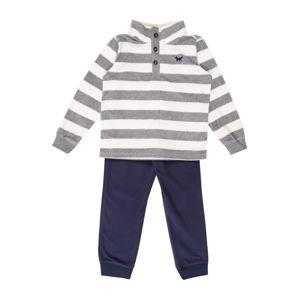 Carter's Pyžamo  šedá / bílá