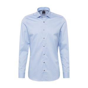 OLYMP Společenská košile 'Level 5 Print'  modrá