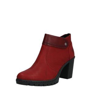 RIEKER Kotníkové boty  vínově červená