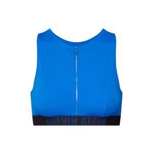 Calvin Klein Swimwear Horní díl plavek 'OPEN BACK CROP TOP'  tmavě modrá