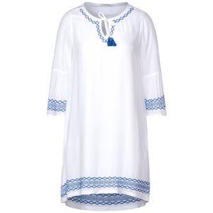 CECIL Šaty  bílá / modrá