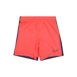 NIKE Sportovní kalhoty  červená / tmavě modrá