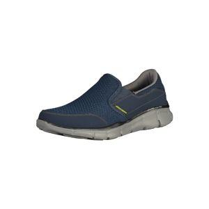 SKECHERS Slip on boty  šedá / námořnická modř