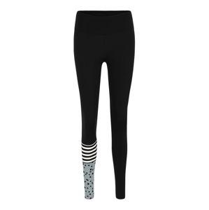 Hey Honey Sportovní kalhoty 'Surf Style'  modrá / mix barev / šedá