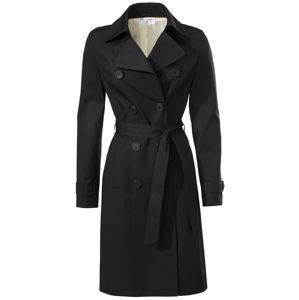 Heine Přechodný kabát  černá